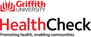 Griffith University Health Check. Promoting Health, enabling communities.