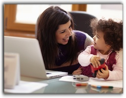 Stay-At-Home Parents Earn Income From Home
