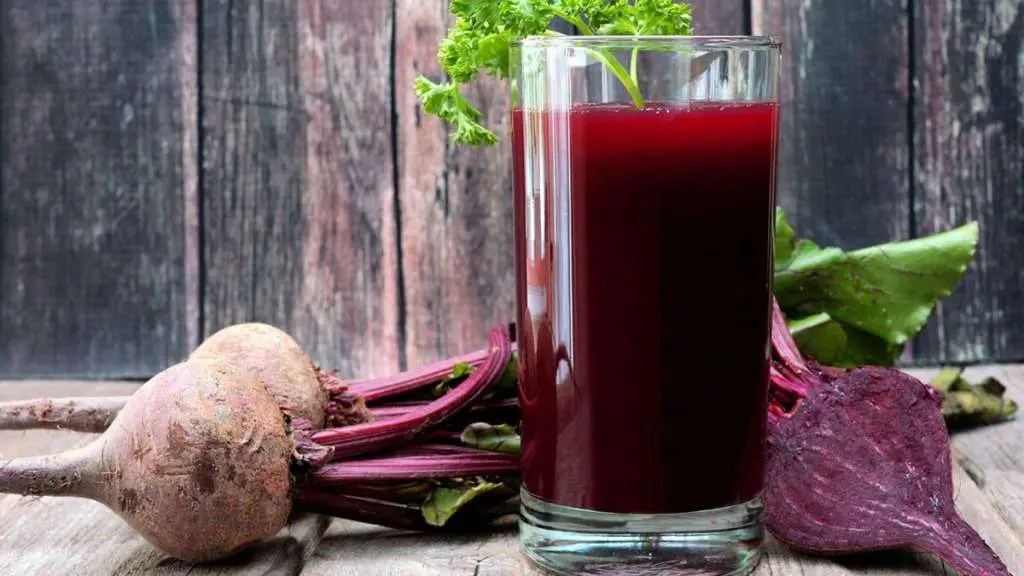 Image of zesty beet juice.