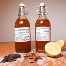 Kombucha With Agave Syrup