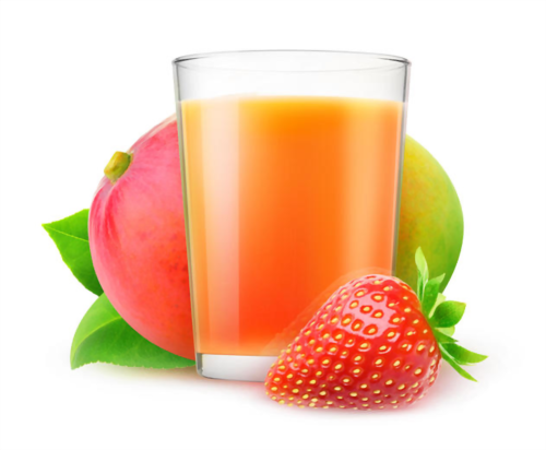 Strawberry and Mango juice Featured