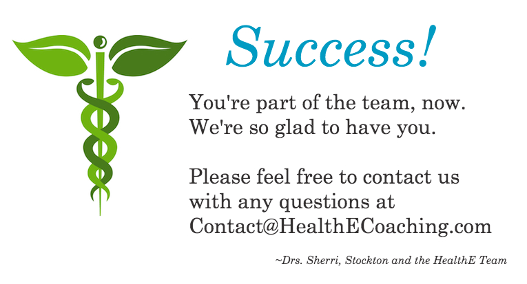 Success!  HealthE Coaching