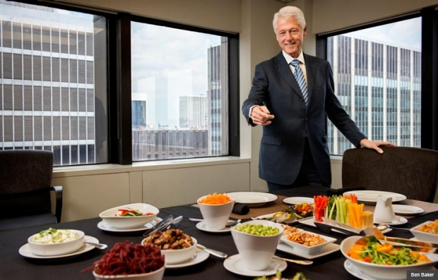 Bill Clinton Explains Why He Became a Vegan and how we can — and for our health must