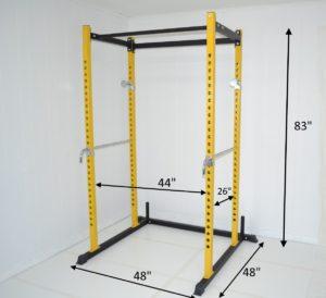 black atlas power rack squat deadlift
