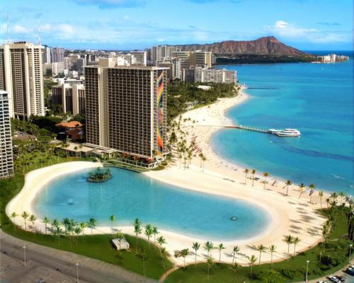 Kahanamoku Beach Waikiki, Hawaii