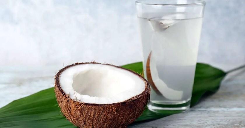 potassium rich food list-coconut water
