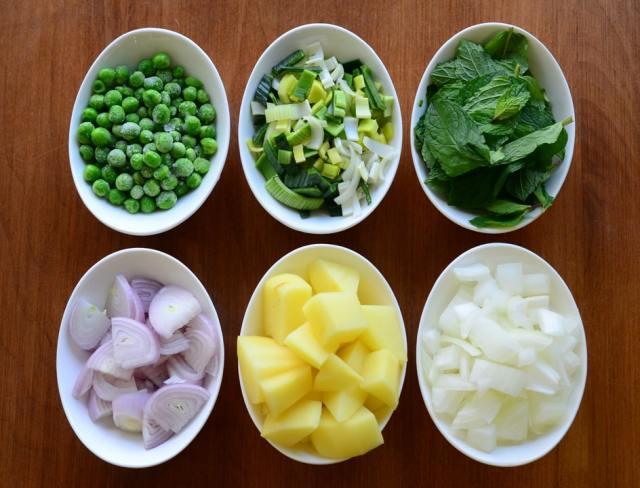 vegan pea soup