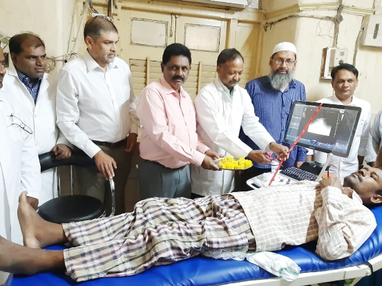 Gujarat based businessman donates new Ultra Sound machine to OGH New machine will decongest load