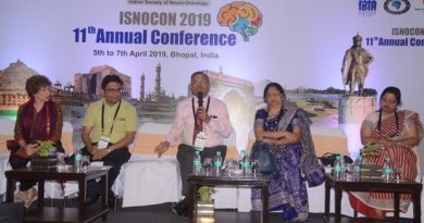 'Brain Tumor Support Group of Bhopal' formed on the last day of ISNOCON 2019