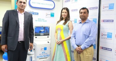 HDFC Bank and Max Bupalaunch Any Time Health Machines