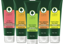 Rinse away your skin concerns with Organic Harvest's