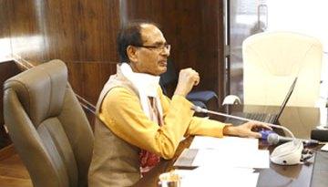 मुख्यमंत्री श्री चौहान ने एक क्लिक से जमा किए 66 लाख विद्यार्थियों के लिए 146 करोड़