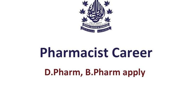 National Institute of Technology Career for Pharmacist