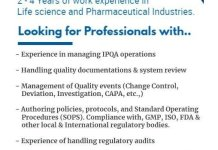 Synthesis Solutions Urgent Hiring Quality Assurance Professionals Apply Now