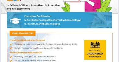 HETERO Biopharma WalkIn Interviews for Freshers and Experienced Candidates on 21st Nov 2020
