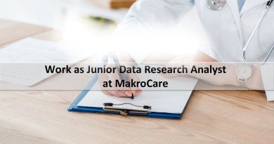 MakroCare Work as Junior Data Research Analyst
