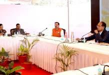 मुख्यमंत्री श्री चौहान ने प्रदेश के विकास पर मंत्रियों से की चर्चा
