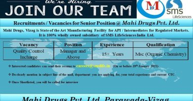 Mahi Drugs Limited Urgent Recruitment for Quality Control Department  Apply Now