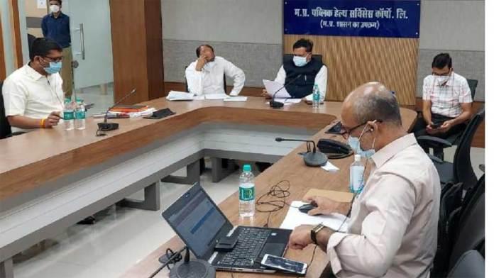 प्रदेश में ऑक्सीजन की आपूर्ति के लिये युद्ध स्तर पर प्रयास जारी: मंत्री श्री भदौरिया