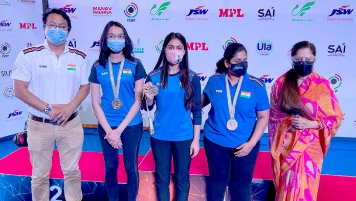 आईएसएसएफ वर्ल्ड कप शूटिंग प्रतियोगिता में चिंकी यादव का शानदार प्रदर्शन