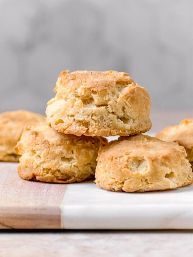 Fluffy Almond Milk Southern Biscuits