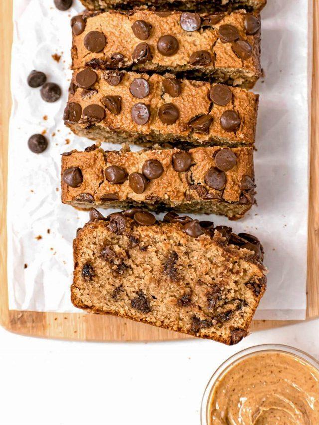 Healthy Peanut Butter Bread (Keto)