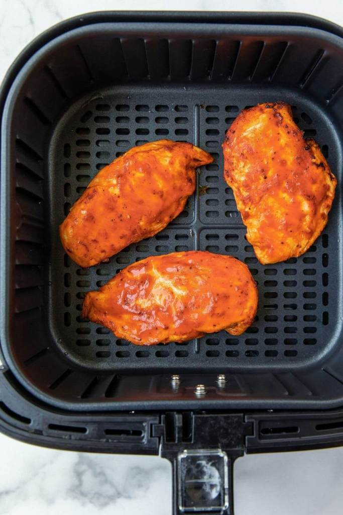 how to air fry buffalo chicken