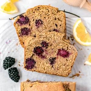 lemon blackberry bread