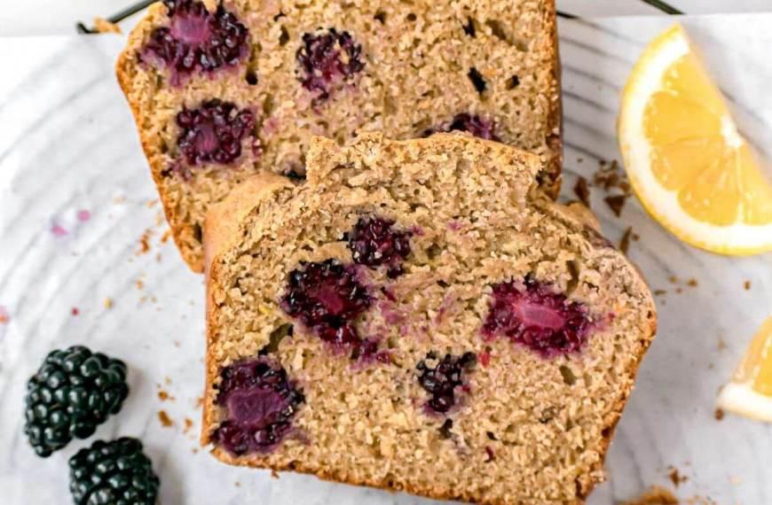 Best Lemon Blackberry Bread