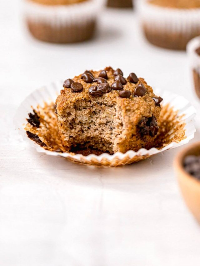 Almond Flour Banana Muffins (Low Carb)