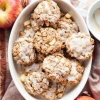 Healthy Apple Pie Oatmeal Cookies