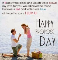 propose on propose day
