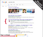 James Tobin on Page 1 Google Results