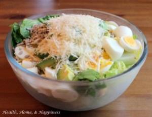 Protein Filled Summer Salad