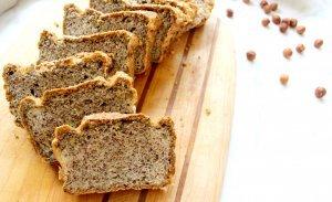 Keto Hazelnut Sandwich Bread (GAPS, Dairy-Free)