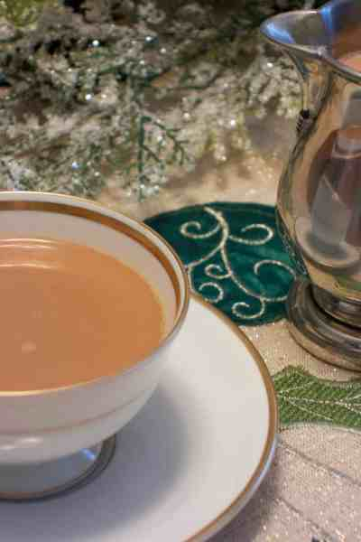 Delicious and easy-to-make Peppermint Mocha Creamer. Perfect for the holidays!