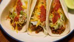 A healthy, fast, and meatless recipe that everyone will love. Lentil Tacos!