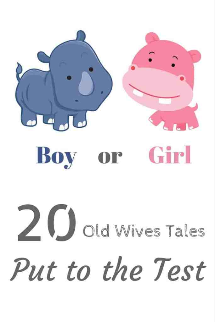 Are gender predictors and old wives tales really true? See what 20 of them have to say about my current pregnancy.