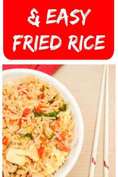 Find out how to make amazingly delicious, and easy, fried rice in the comfort of your own home. You'll never need to order takeout again!