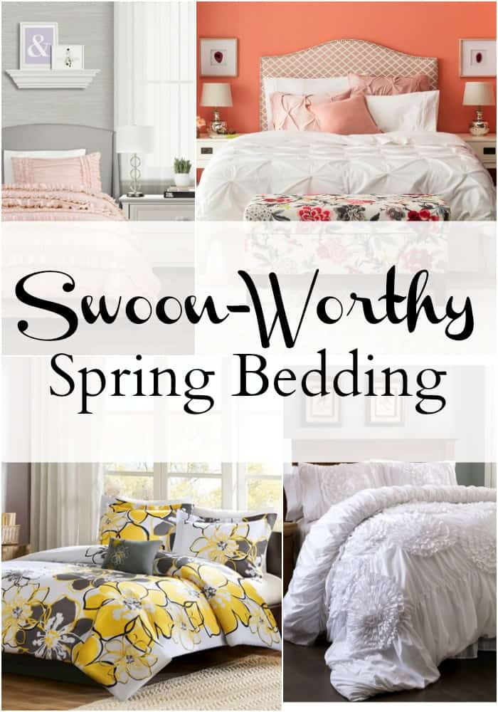 Are you itching for spring? Here, I've rounded up some of my favorite on trend spring bedding for this year.