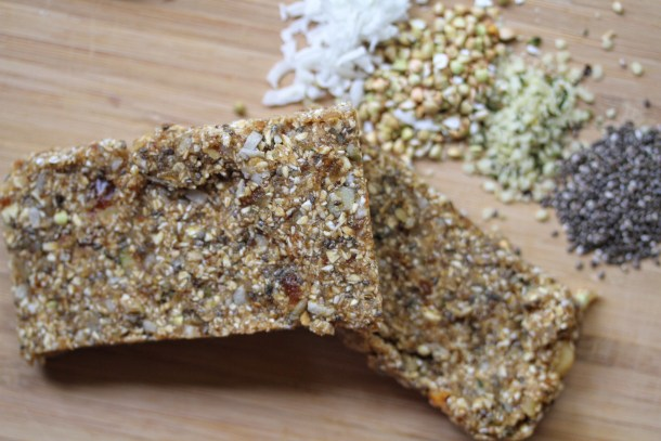 Vegan Low Fat, Oil-Free Protein Bar
