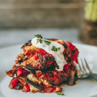 Vegan Egyptian Eggplant Moussaka