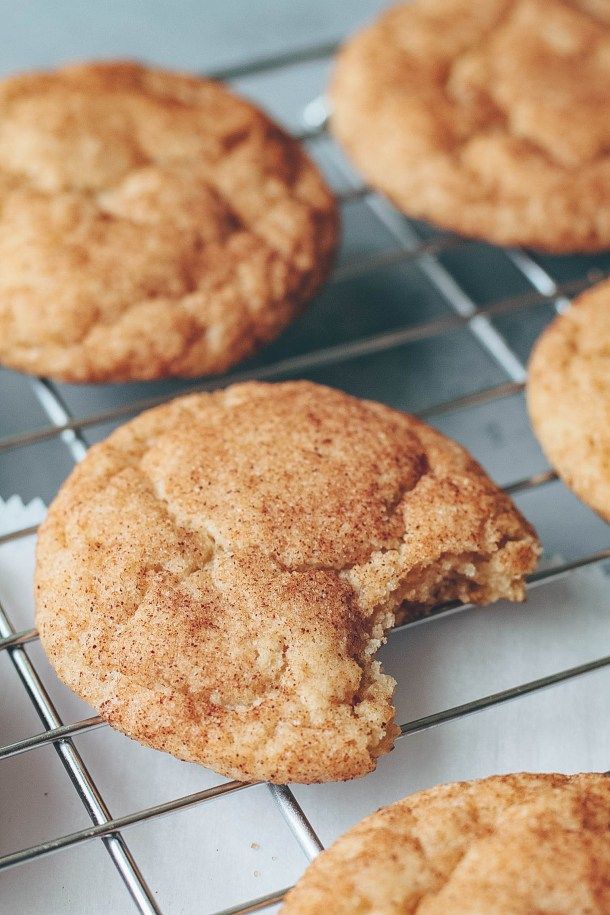 The Best Vegan Snickerdoodles   Soft & Chewy