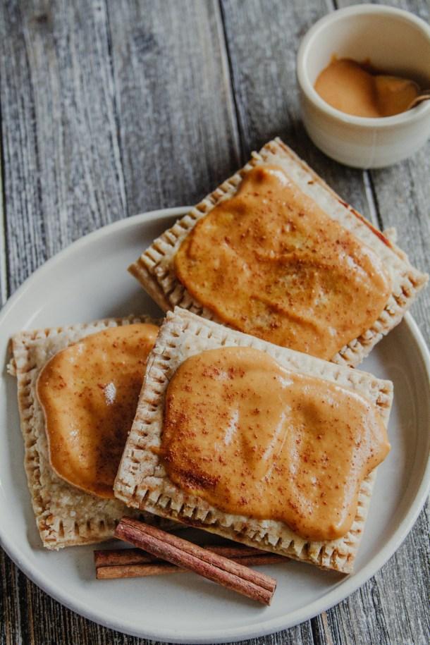 Gluten-free Pumpkin Spice Pop Tarts