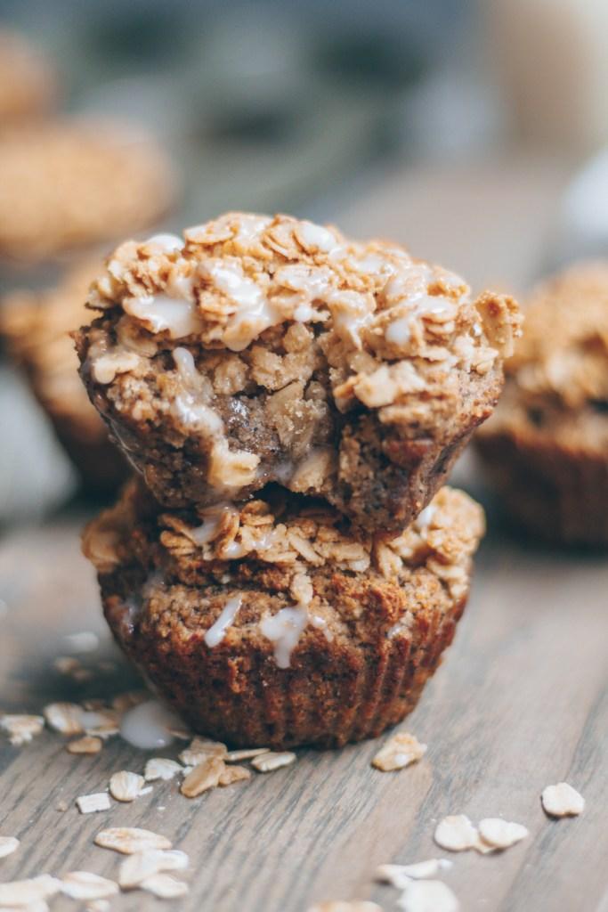 banana bread coffee cake muffins