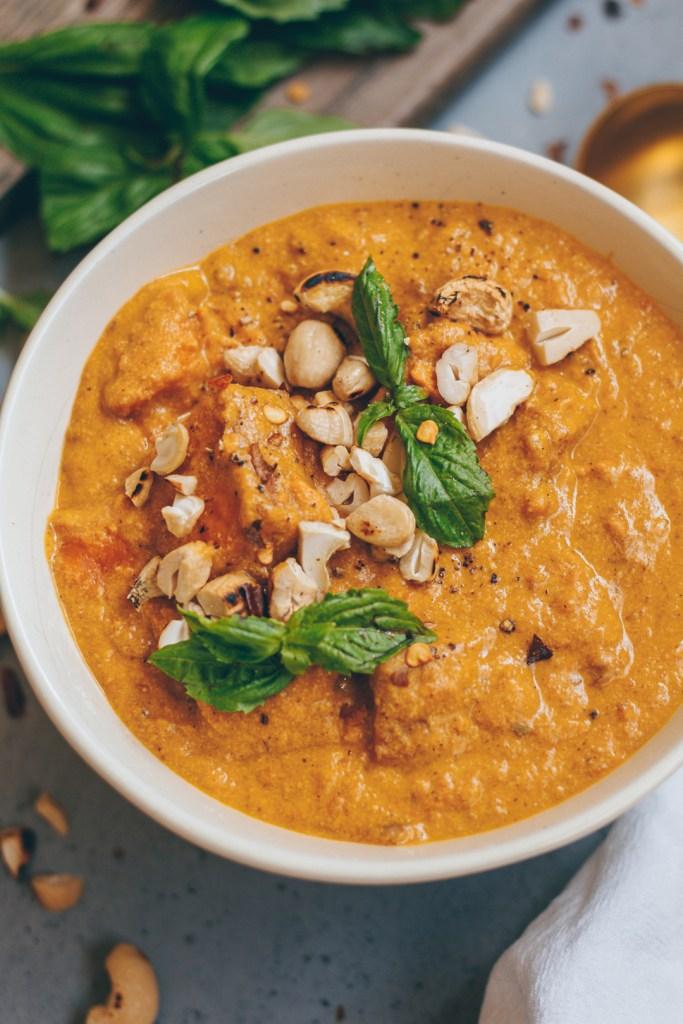 creamy sweet potato coconut stew