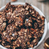 Chunky Almond Coconut Chocolate Granola