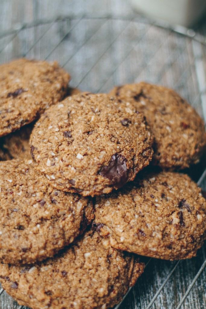 coconut pecan chocolate chip cookies