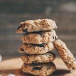 no-bake chocolate chip oatmeal cookies