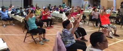 ActNow Seniors in Gym